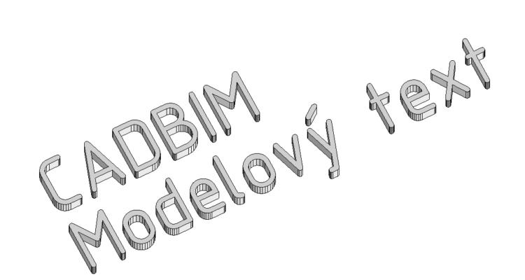 Modelový text a jeho parametrizace
