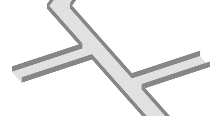 Spojování kabelových lávek bez tvarovek